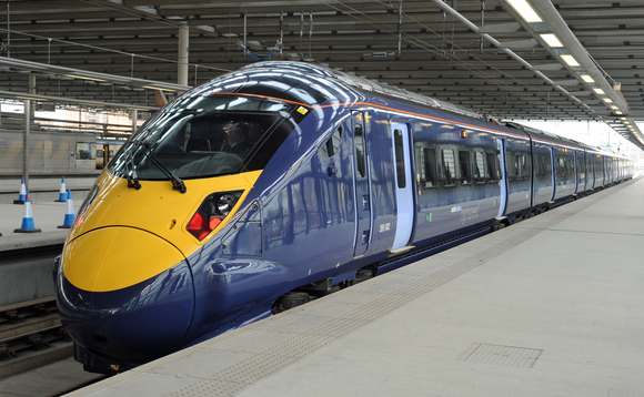 HS1 electric train at St Pancras station, London | Credit: Hitachi