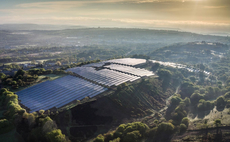 Greencoat Capital's 5MW Cocket Valley Farm in Swansea. Credit: Greencoat Capital