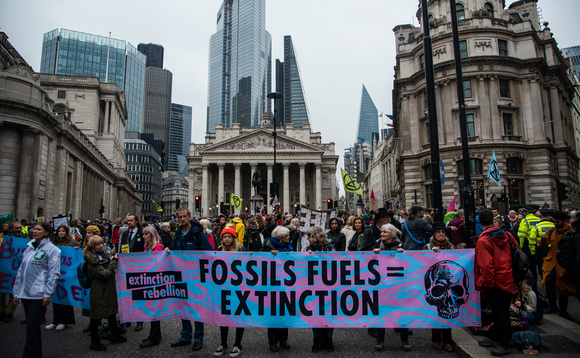 The campaign aims to pressure PR and ad agencies into ending work with fossil fuel firms | Credit: Extinction Rebellion