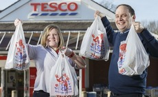 Tesco slashes plastic bag numbers by 1.5 billion in 12 months