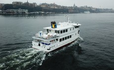 Stockholm's first electric-hybrid ferry hits the water