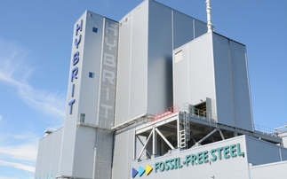 The Hybrit pilot green steel hydrogen plant in Sweden | Credit: SSAB