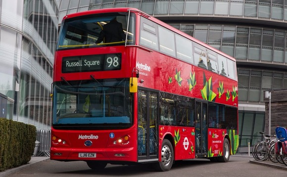 London Mayor launches capital's first Low Emission Bus Zone