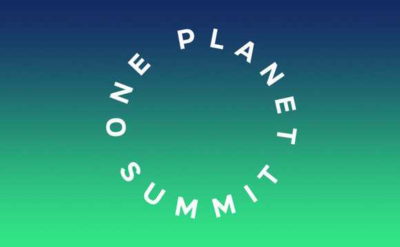 One Planet Summit: Live blog