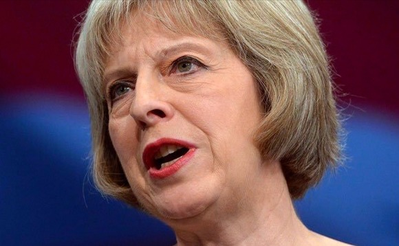 Theresa May pledges to power up clean tech exports