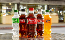 Coca-Cola's new 100 per cent recycled plastic bottle line-up | Credit: Coca-Cola Company