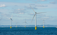 The 400MW Rampion wind farm is located 13km off the Sussex coast