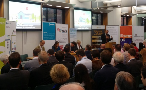 The SPIA launched in Parliament's Portcullis House yesterday