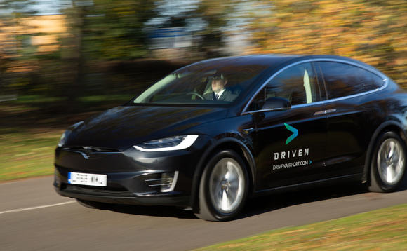 Driven debuts all-electric airport shuttle service