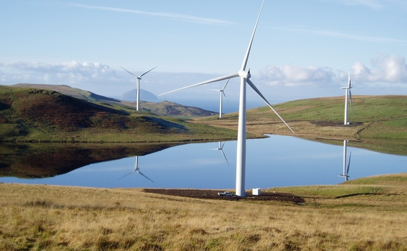 Onshore wind again performed strongly in Q3 2017 | Credit: SSE