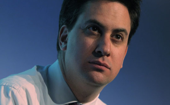Shadow Business Secretary Ed Miliband is calling for major investment in green jobs