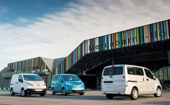 Nissan's first all-electric van to go on sale from tomorrow