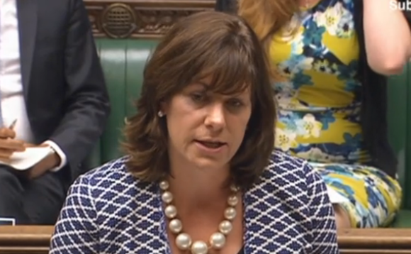Climate change minister Claire Perry