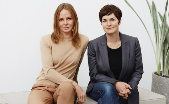 Stella McCartney (left) and Ellen MacArthur (right) want to see more action to fight fashion waste