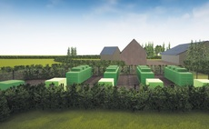 Artist impression of the Ferrymuir battery storage site | Credit: ILI Group