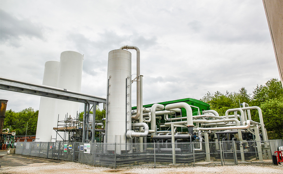 One of Highview's Liquid Air Energy Storage demonstration plants