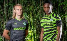 Forest Green Rovers raises the bar with new green football kit made from bamboo