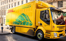 DHL debuts 'UK's first' all-electric truck