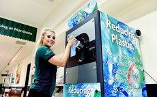 A number of UK supermarkets have begun introducing their own reverse vending machines for plastic bottles | Credit: Morrisons