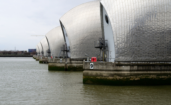 The Thames Barrier is designed to guard against major flooding in London | Credit: Dave Design Method