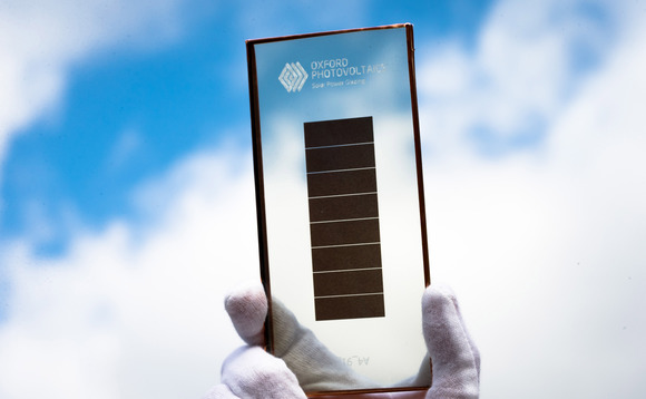 Oxford PV partners with unnamed manufacturer to deliver solar glass technology