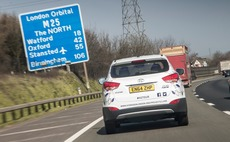 Hydrogen car smashes world records in six-day demonstration around M25