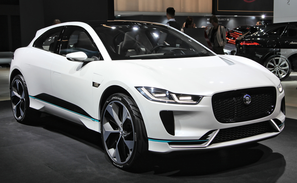 The recycled plastic is currently being trialled on the front end of a Jaguar I-Pace EV | Credit: Jaguar Land Rover