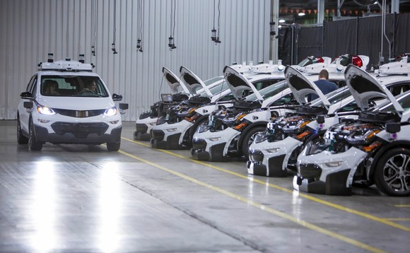 Chevrolet Bolt EV autonomous test vehicles being assembled in Michigan | Credit: Jeffrey Sauger for GM