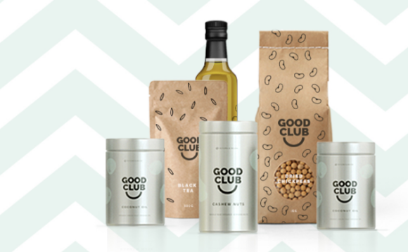 Sustainably sourced products from Good Club