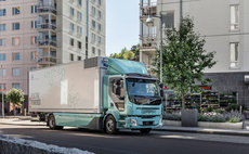An electric Volvo Truck / Credit: Volvo Trucks