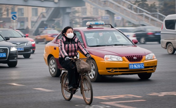 China is battling an air quality crisis