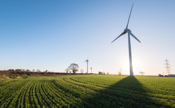 The 10MW Alveston wind farm in Gloucestershire | Credit: Ecotricity