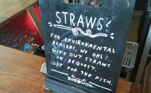 Many businesses have voluntarily moved to stop providing single use plastic items
