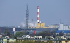 The existing Ostrołęka A coal plant in Poland next to which the new coal project has been planned | Credit: PanSG