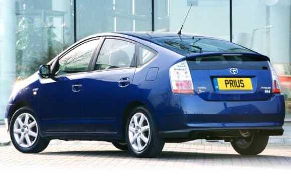 The Prius, one of the best-selling hybrid cars