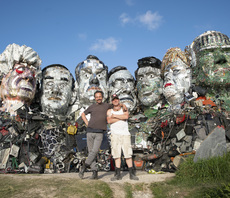 What next for giant e-waste sculpture that loomed over G7 summit?