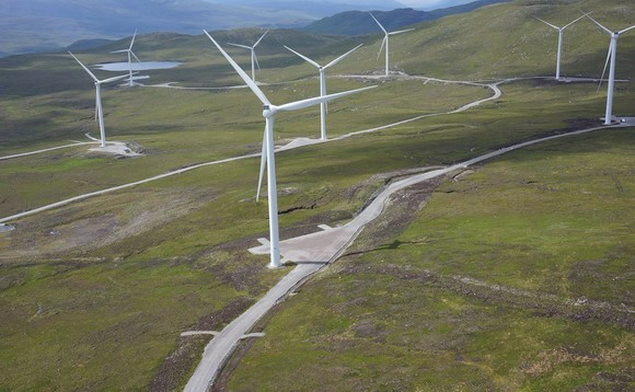 Lochluichart Wind Farm was one of several onshore wind farms owned by Eneco