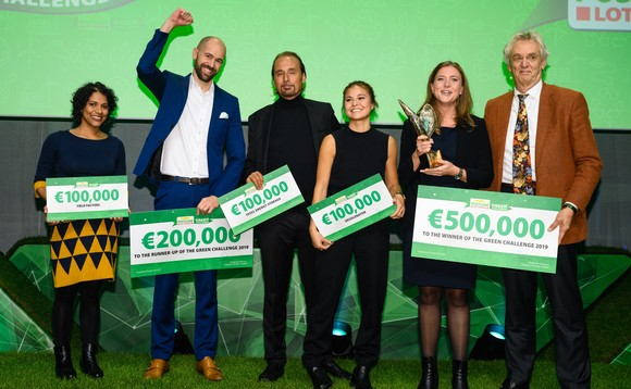 Last year's Green Challenge winners
