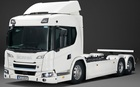 Scania debuts electric lorry that can travel from London to Birmingham on a single charge