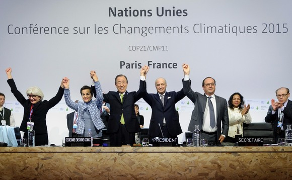 Could the Paris Agreement enter into force this year?