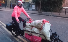Cargo bikes to cut Christmas parcel pollution in the capital