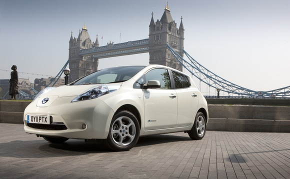 Could David Cameron soon be driving a Nissan Leaf?