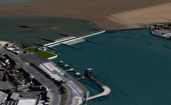 Artist's impression of the 100MW Wyre Estuary project | Credit: Simec Atlantic Energy