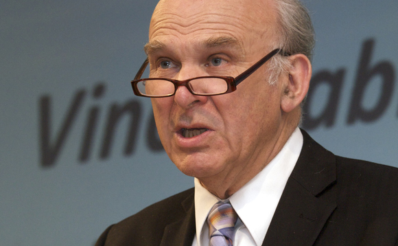 Vince Cable sets out plan to make London global capital of green finance
