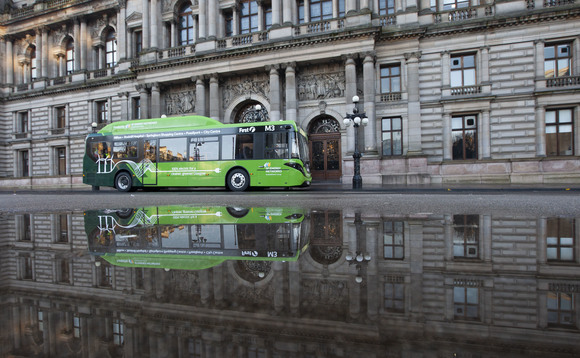Two BYD ADL electric models have been running in Glasgow for a year | Credit: First Glasgow