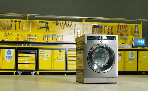 The microfibre washing machine is set to hit the market in 2020 | Credit: Arçelik