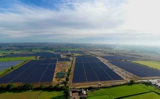 The 35MW York solar farm is co-located with battery storage | Credit: Gridserve