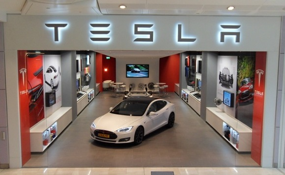 Tesla stock powers up on solid sales figures