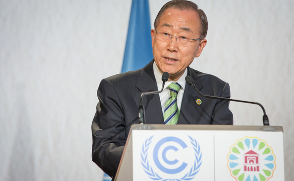 UN Secretary-General Ban-Ki Moon