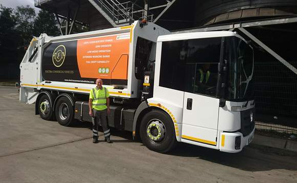 Veolia to rev up all-electric bin lorries trial